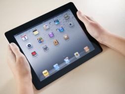 Showing Apple iPad2 Homepage
