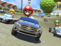 Mario Kart gets real with Mercedes Benz