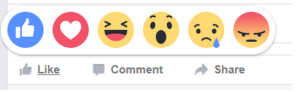 facebook reaction buttons 3