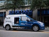 Ford's driver-less food delivery