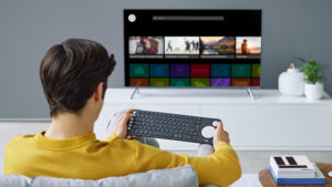 Logitech Keyboard for your Smart TV