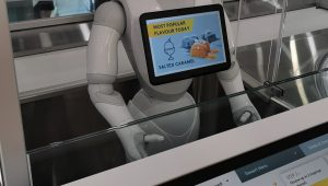 Robots serving up Ice Cream in Melbourne